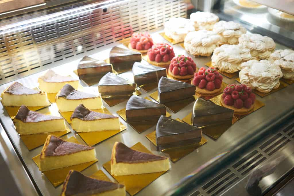 A selection of pastries at Mercado Little Spain.